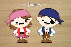 Sweet vector Pirates