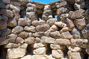 Ruins of ancient Nuraghe city