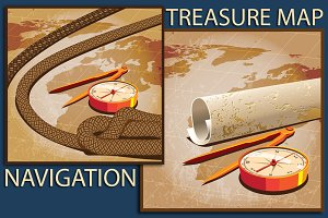 Navigation & Treasure Map
