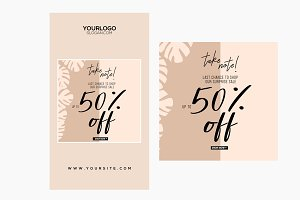 Sale Banner PSD Templates