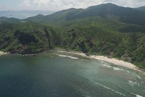 Coast of the Palau island. Philippines.