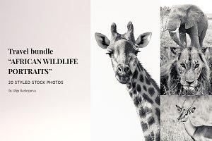 "Travel Bundle ""African Wildlife"""