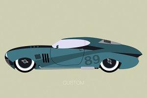 classic custon american car