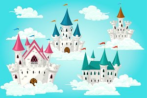 Fairytale castles set