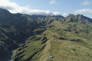 Mountain province in the Philippines, Pinatubo.