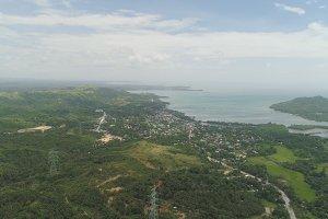 Tropical landscape. Philippines, Luzon.