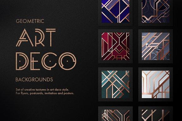 Art Deco Big Bundle Save 50 Graphic Objects Creative Market