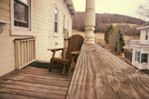 Beautiful Country Porch