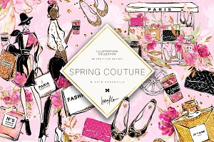Spring Fashion Clipart