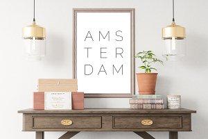 Amsterdam Wall Art Poster