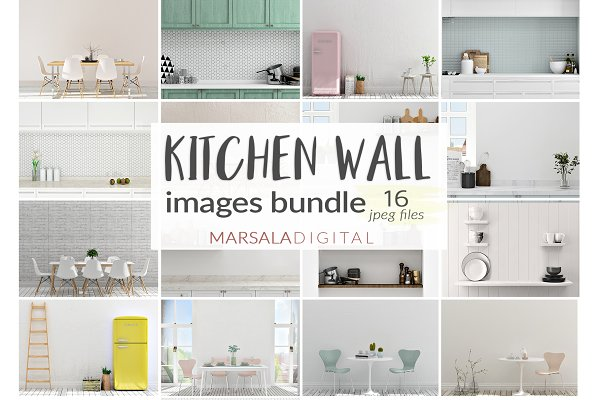 Kitchen Wall Images Bundle