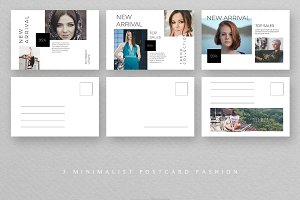 Fashion Postcard Templates