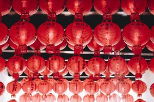 Celebration of Chinese lantern