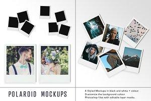 Polaroid Mockups