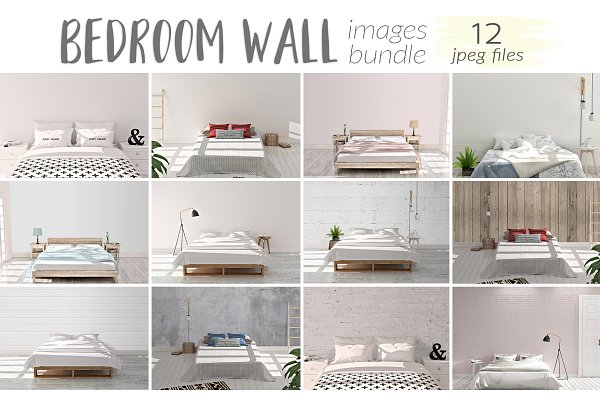 Bedroom Wall Images Bundle