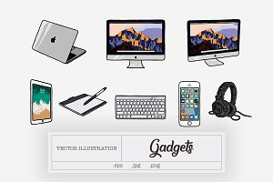gadgets illustration