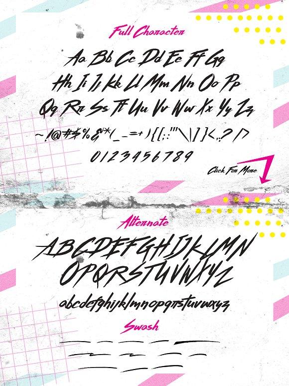 Thunderstorm Extras Stunning Script Fonts Creative Market