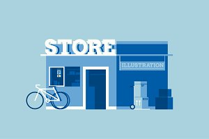 Store Illustration Pack