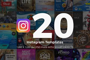 20 Instagram Templates