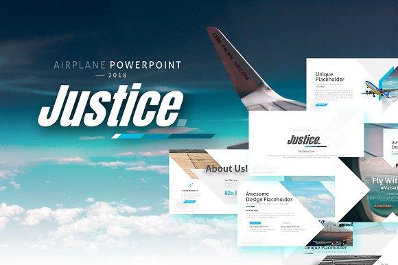 Justice Airplane Presentation