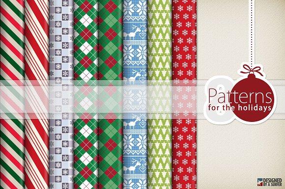8 Holiday Patterns