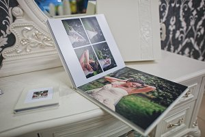 Wedding photobook and album