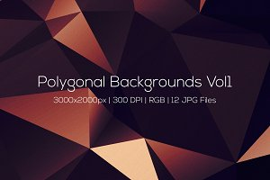 Polygonal Backgrounds Vol1