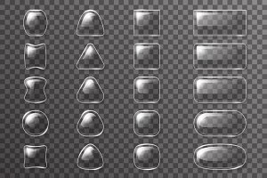 Glass ui app buttons