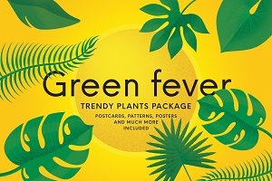 Green fever - trendy plants