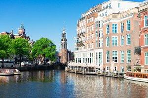 Munt tower, Amsterdam, Netherlands
