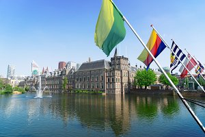 Binnenhof - Dutch Parliament, Holland