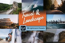 Travel & Landscape Lightroom Presets by Jan in Actions