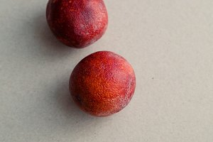 Ripe red oranges