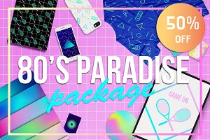 50% OFF! 80's Paradise Package