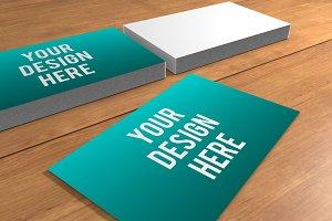 Business Card Presentation Template