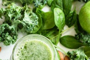 Green Detox Smoothie or Juice