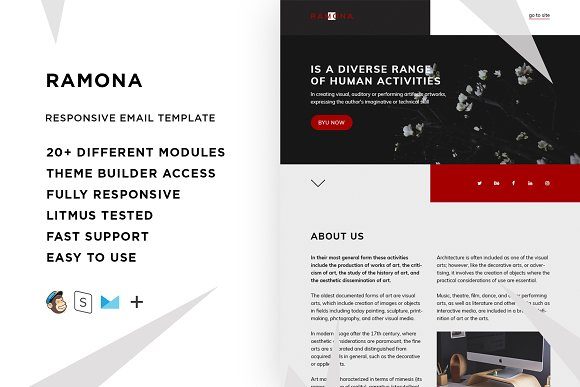 Ramona Email Template Builder