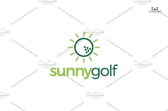 Sunny Golf Logo ~ Logo Templates ~ Creative Market