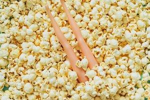 Legs in Popcorn
