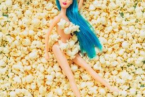 Popcorn doll