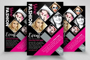 Fashion Flyer Template Vol: 04