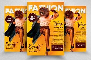 Fashion Flyer Template Vol: 05
