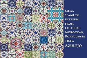 Moroccan tiles, Azulejo
