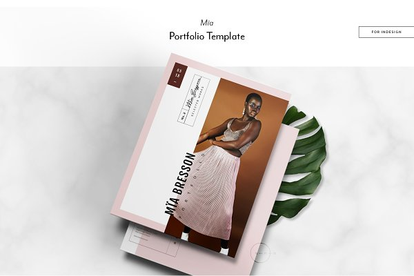 Magazine Templates: Nonola - Portfolio & Catalog • Mïa