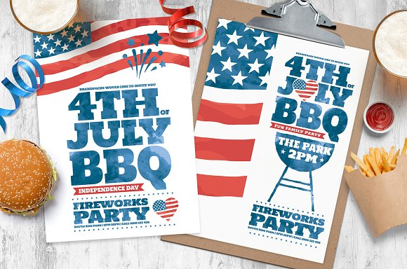 4th Of July Flyer Templates