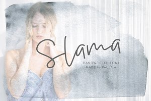 Slama | Handwritten Font