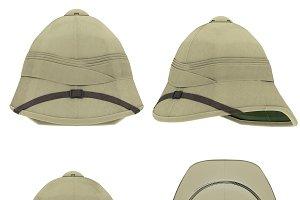 Cork Pith Helmet