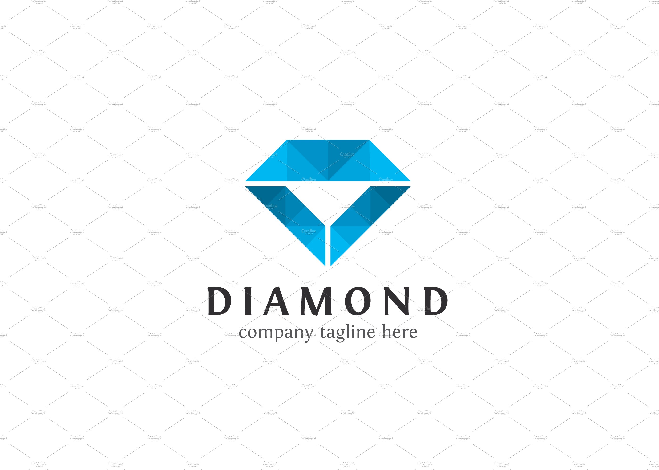 illustration activity diamond of logo image stock