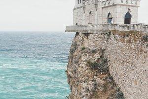 Swallow's Nest Castle, Crimea.