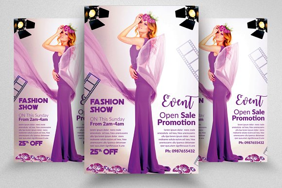 Fashion Flyer Template Vol 08
